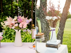 French-Provencal-Style-Pitcher-Wedding-Decor-Country-Wedding-Theme