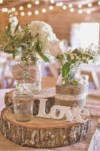 Rustic Wedding Supplies Beautiful 1124 best Wedding Centerpieces images on Pinterest